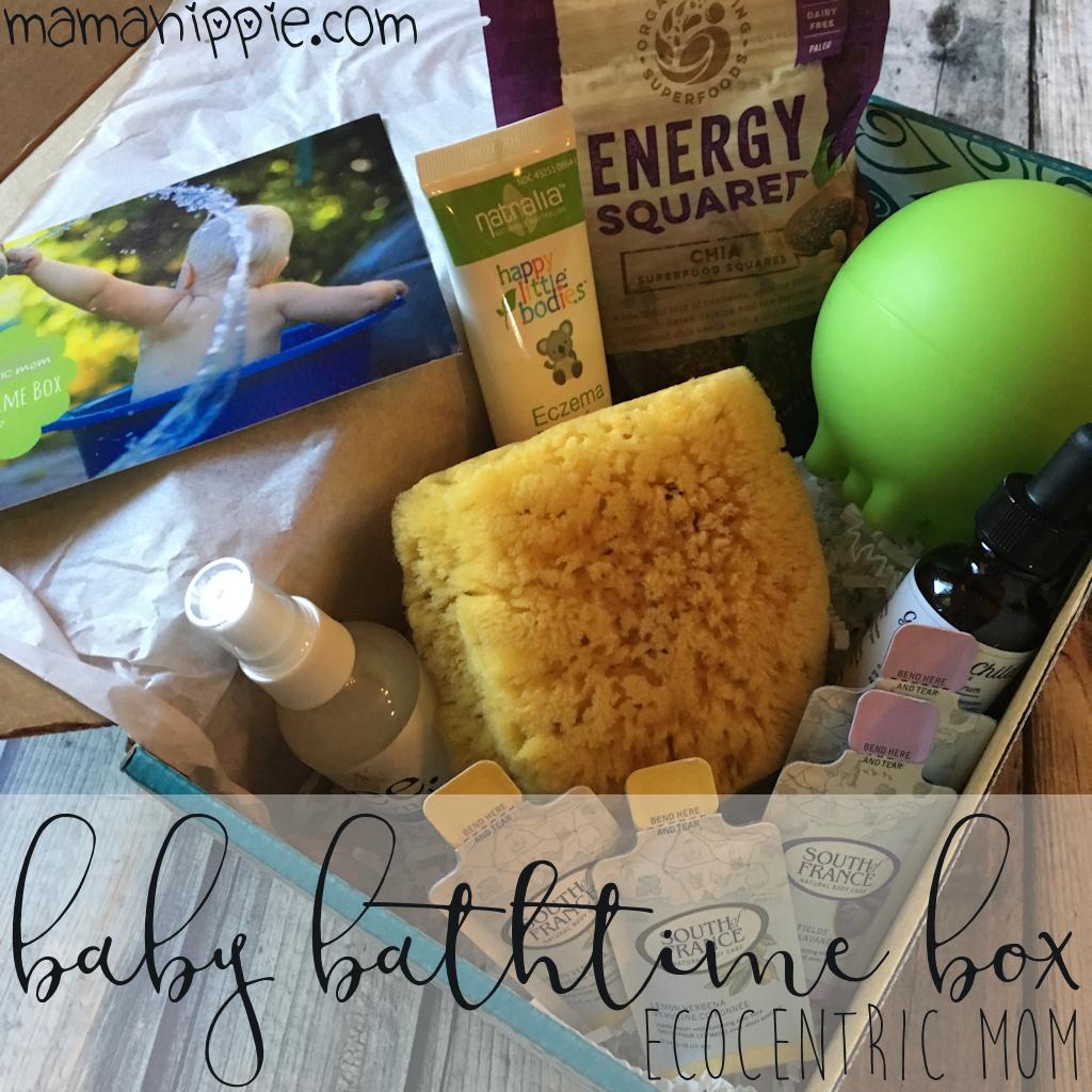 Ecocentric Mom Baby Bathtime  Box – August 2017