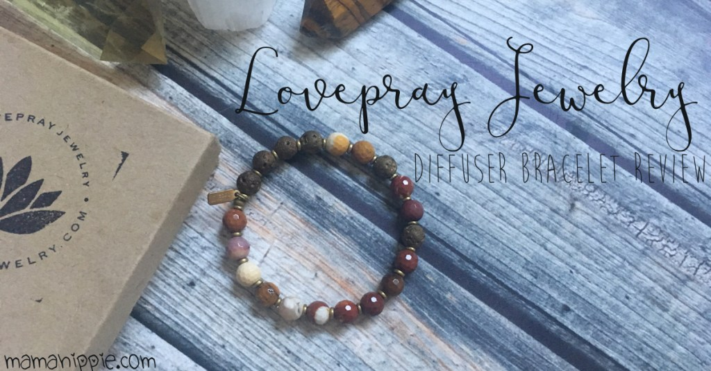 Take your essential oils with you on the go with LovePray Jewelry's essential oil diffuser bracelet collection.