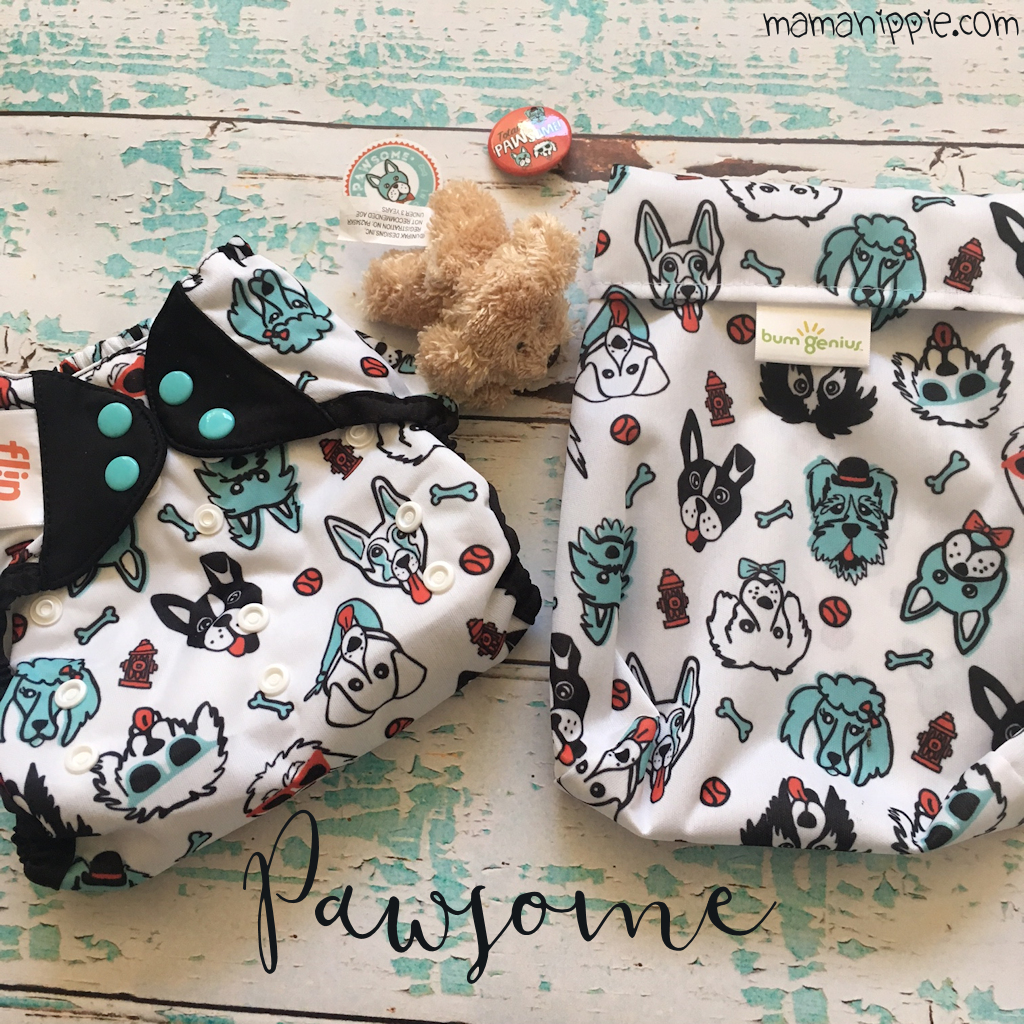 Ever wanted to get limited edition cloth diapers delivered right to your door? Cotton Babies now has a subscription service so you can do just that! This month is PAWsome, a cute little doggie doodle diaper.