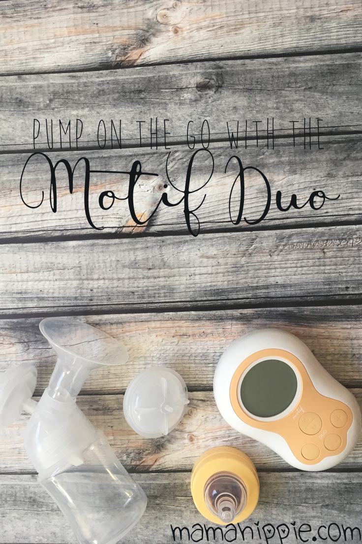 Perfect for nursing mothers pumping on the go, the Motif Duo Breastpump packs powerful suction into a small package.