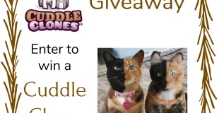 Cuddle Clones Giveaway (USA; 1/13-1/27/18)