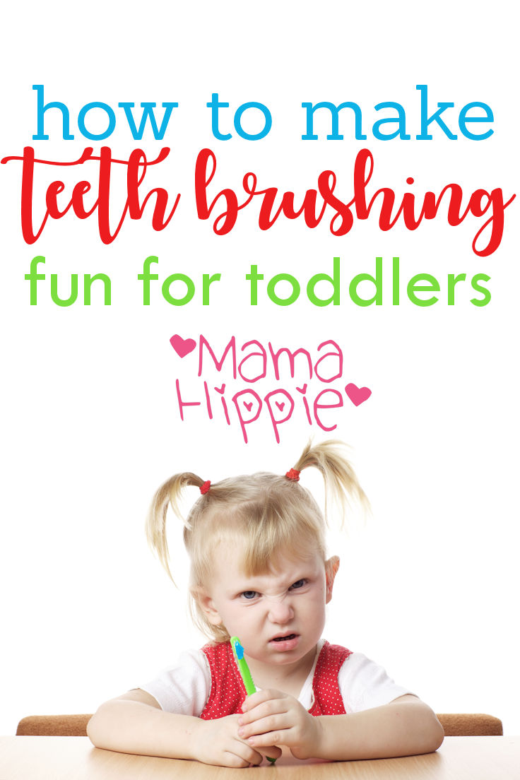 Tired of the fights and screams when it comes time to brush your toddlers teeth? Make teeth brushing fun for toddlers with this easy game.