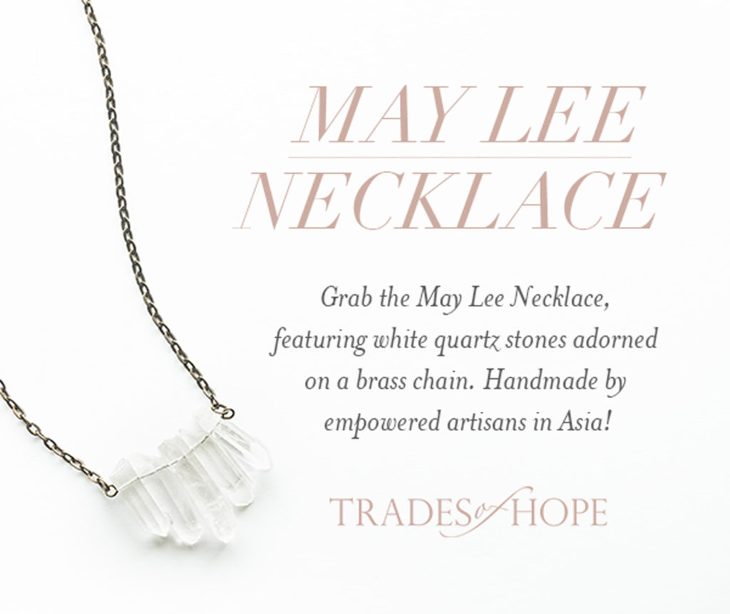 May Lee Necklace by Trades of Hope