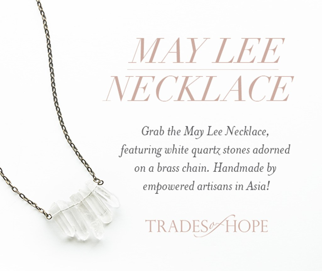 Trades of Hope Necklace Giveaway (12/20/18-1/3/19; USA Only)