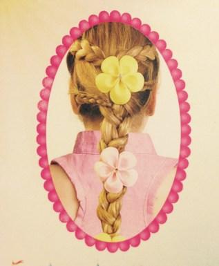 TRENZA TORCIDA DOBLE. 4 Peinados para Nuestras Princesas en Halloween Gracias a JOHNSON'S #NoMoreTangles