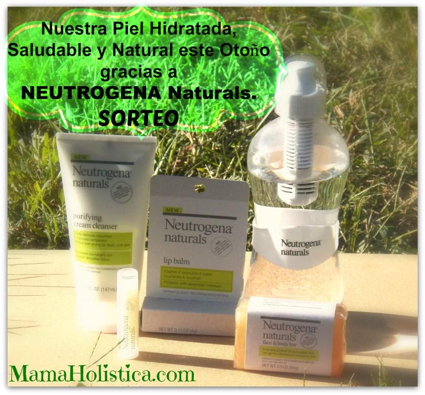 Nuestra Piel Hidratada, Saludable y Natural este Otoño gracias a @NEUTROGENA Naturals SORTEO.