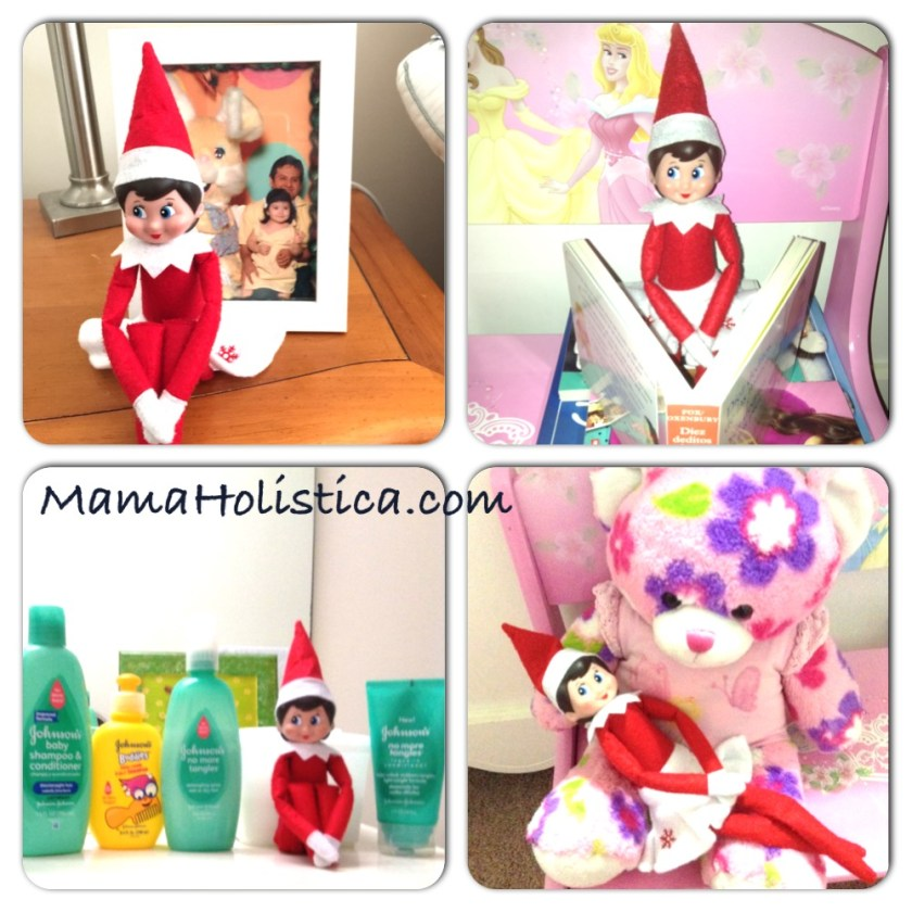 Intenciones ~ Miércoles Mudo/Wordless Wednesday: ¡The Elf on the Shelf llego a Casa! #MM