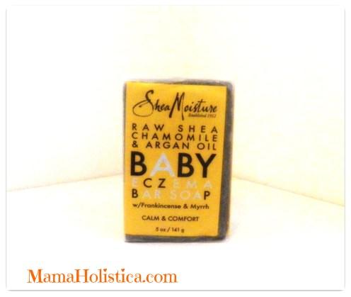 Productos Naturales SHEA MOISTURE para el Eczema Therapy de tu Bebé en este Invierno. Sorteo~ECZEMA BAR SOAP.