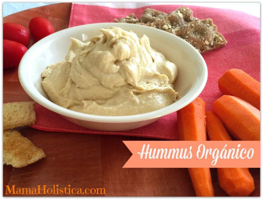 Recetas Holísticas: Hummus Orgánico.