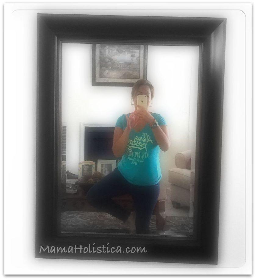 Miércoles Mudo / Wordless Wednesday: Yoga Selfie #MM