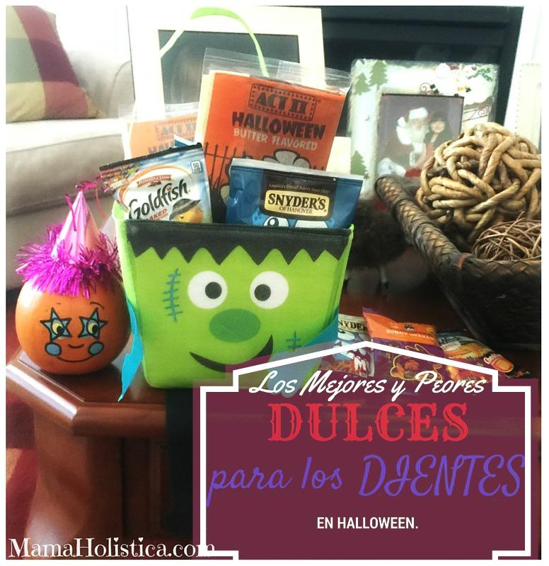 Los Mejores y Peores Dulces para los Dientes en Halloween #Tips