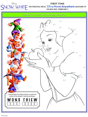 Snow White and the Seven Dwarfs ya en DVD #SnowWhite