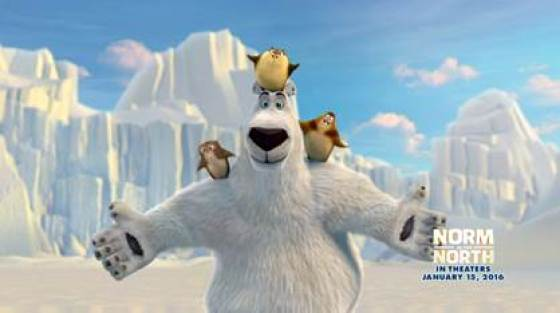 "Estreno de la Movie ""NORM OF THE NORTH"" este 15 de Enero 2016 #ShakeYourBearThing"