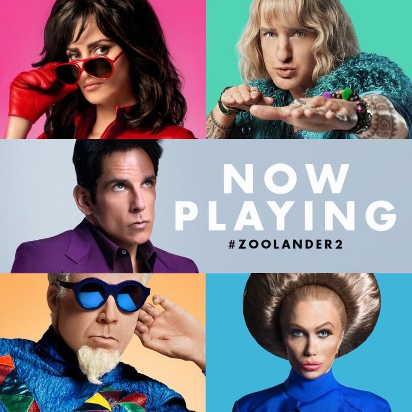 Ya se estreno ZOOLANDER No. 2 en todos los Cines #Zoolander2