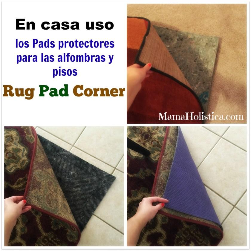 Tips para Alfombras y Pisos Protegidos Naturalmente #RugPadCorner