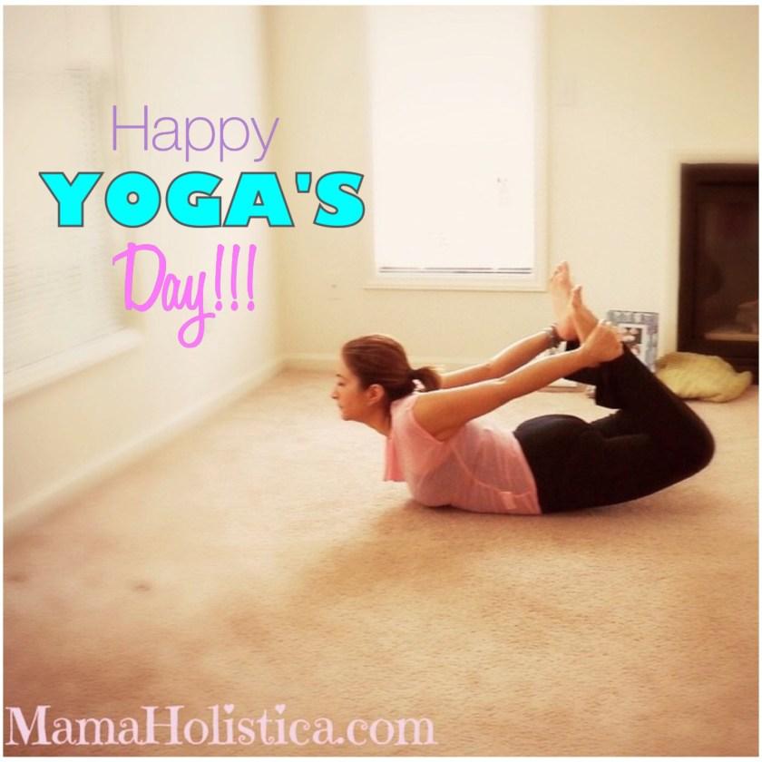 Miércoles Mudo / Wordless Wednesday: ¡Feliz Día Internacional del Yoga! #MM
