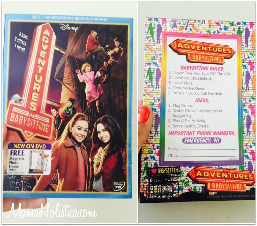 """La Película """"ADVENTURES IN BABYSITTING"""" ya en DVD este 28 de Junio. Sorteo."""