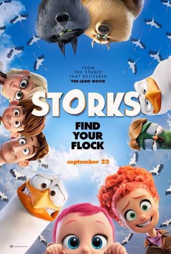 """""""Storks. Find Your Flock"""" En Cines este 23 de Septiembre #STORKS"""