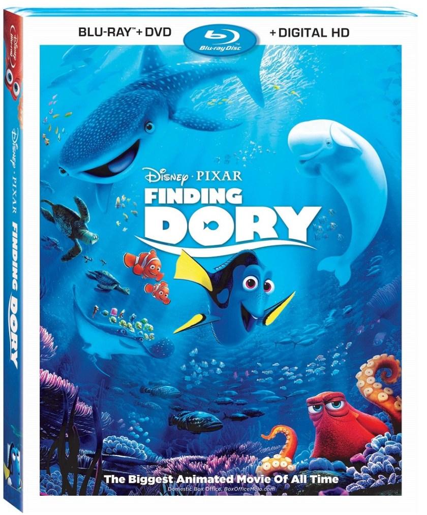 Finding Dory ya está Disponible en Blu-ray™ el 15 de Noviembre. Sorteo #FindingDory