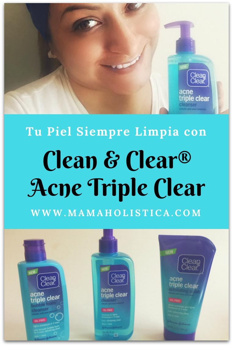 Tu Piel Siempre Limpia con Clean & Clear® Acne Triple Clear #bubblehappy Sorteo #Ad