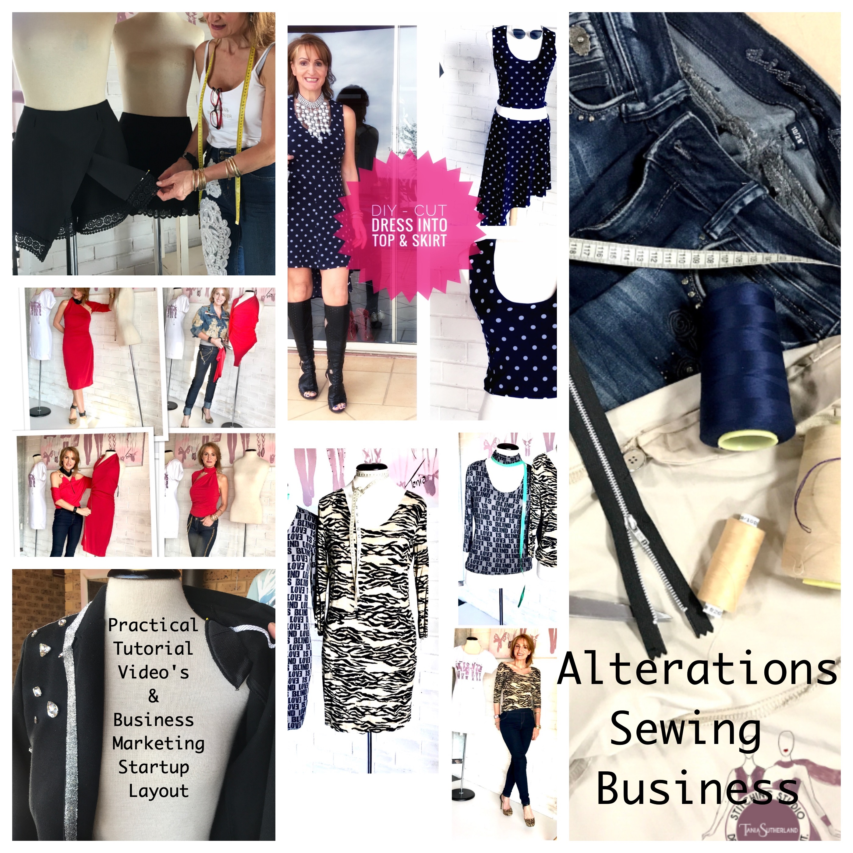 Alterations Sewing Business Startup