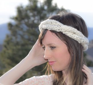 Cabled Knit Chunky Easy Headband Pattern