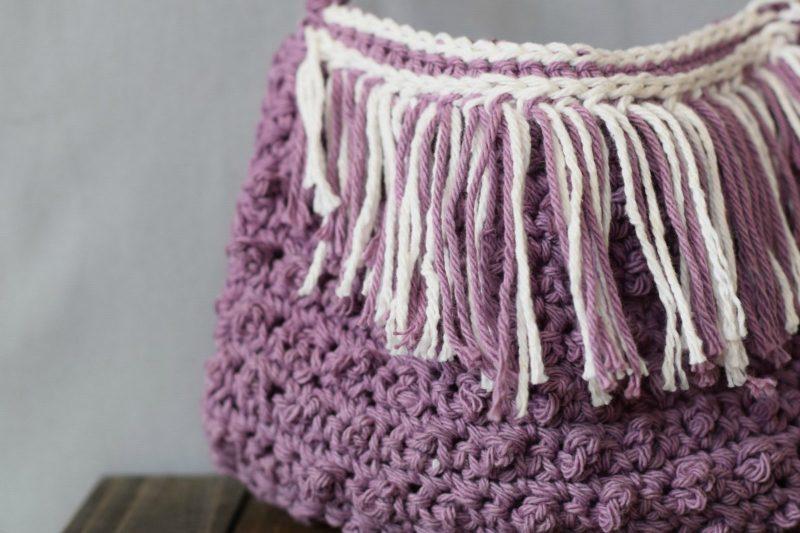 Fringed Crochet Bag Pattern