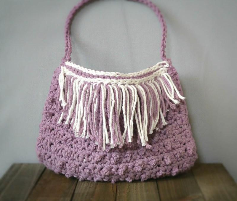 Fringed Summer Crochet Bag Pattern