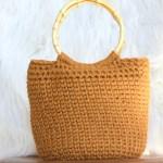 Camel Bucket Bag Crocheted Bag Pattern Mama In A Stitch