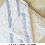 How To Knit The Easiest Baby Blankie Luxe Blankie Knitting Pattern Mama In A Stitch