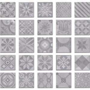 carrelage imitation ciment grès cérame Diffusion Céramique Signum Grey