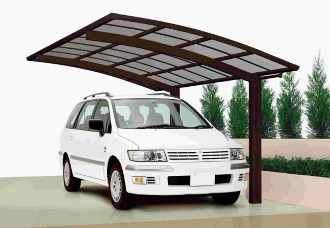 abri voiture aluminium 2 pieds 5 x 3 m