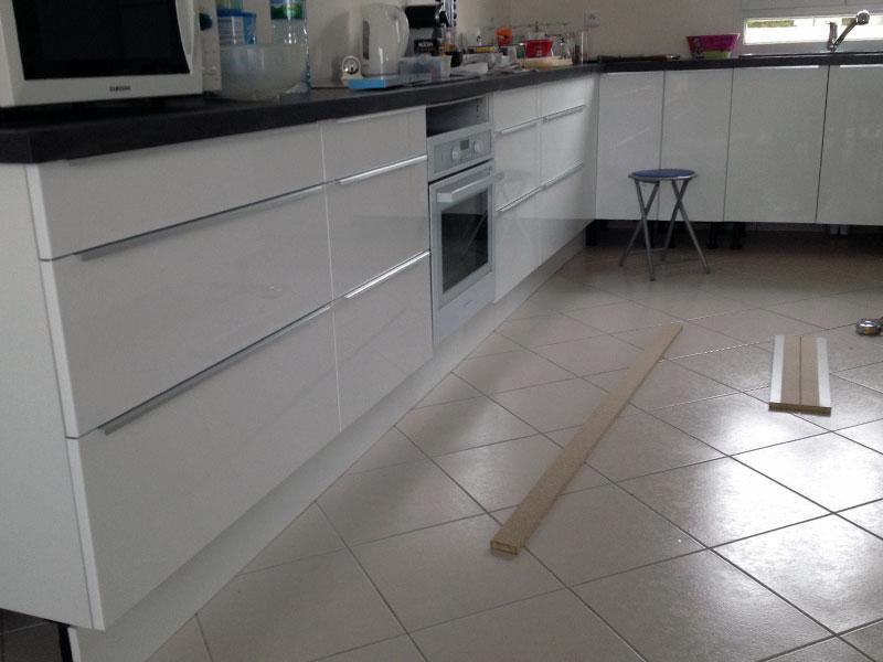 la cuisine est terminee enfin presque