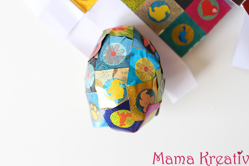 Aufkleber-Ei