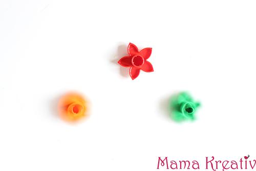 Kreisel aus Lego-Blumen