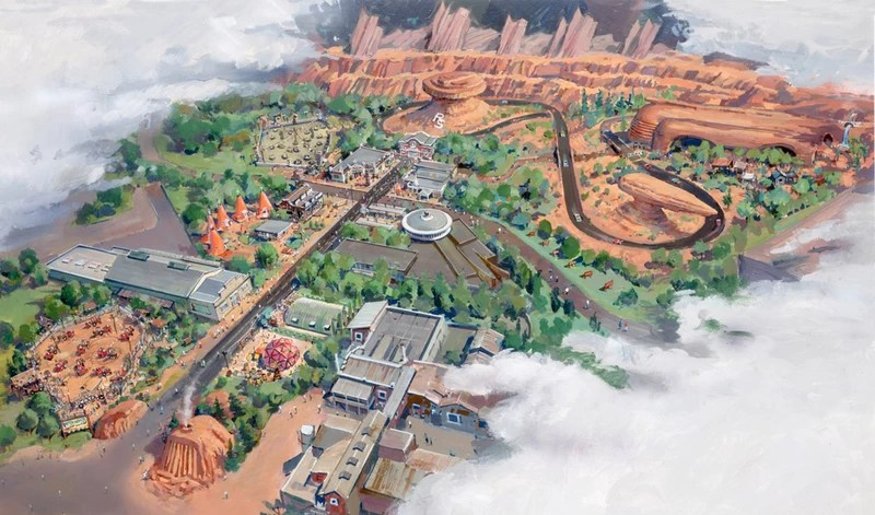 Cars Land, Buena Vista Street and Carthay Circle Theater Open to the Public on June 15, 2012