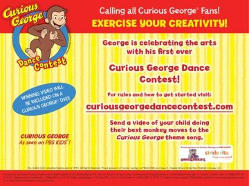 Curious George Dance Contest
