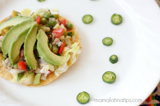 Mexican Tuna Salad by mamalatinatips.com