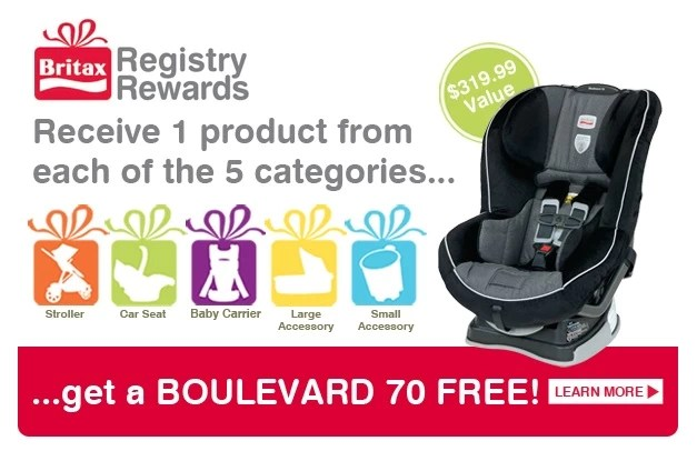 The Britax Registry Rewards