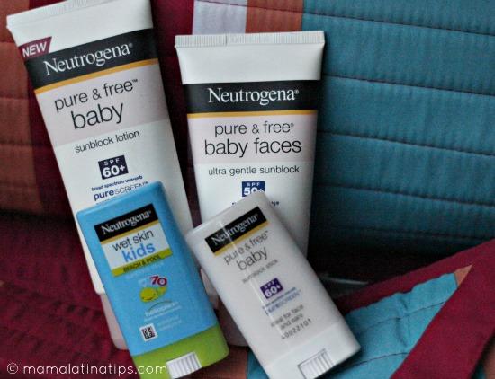 Neutrogena Baby Sunblock Sorteo Mama Latina Tips