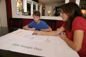 Preparing a Family Fire Escape Plan