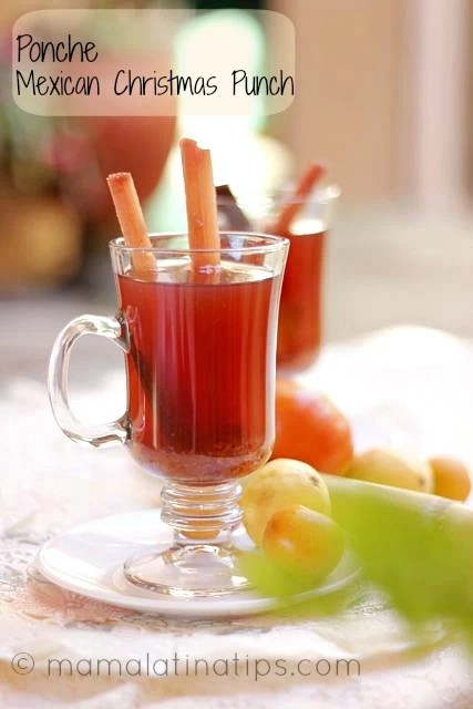 ponche - Christmas Punch Ideas