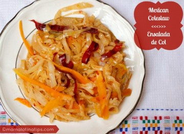 Mexican Coleslaw Reinvented