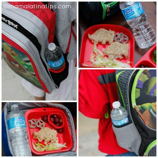 A La Escuela y Bien Hidratados