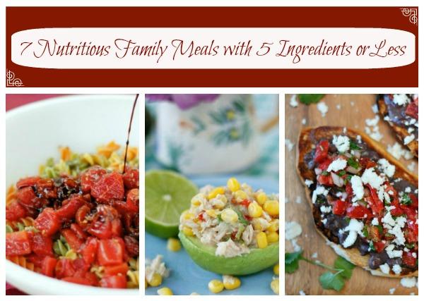 Fast 5 Ingredient Recipes