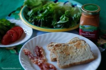 Mexican Chipotle BLT Sandwich