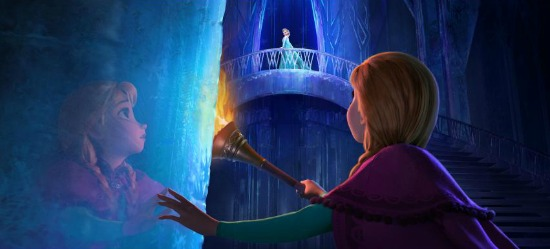 Anna and Elsa Ice Castle