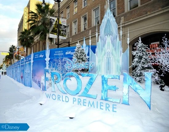 My Frozen World Premier Red Carpet Walk