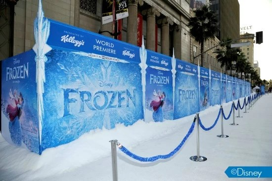 White Carpet Frozen
