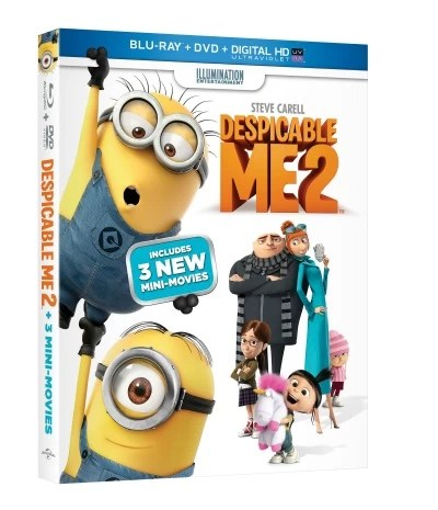 Despicable Me 2 – Giveaway